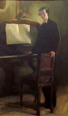 António_Carneiro_Claudio_ao_piano_by_Henrique_Matos_02
